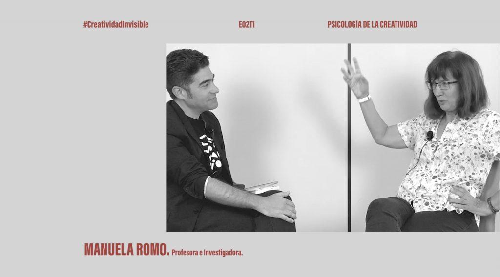 Psicología de la Creatividad con Manuela Romo y Rafael Armero | #CreatividadInvisible